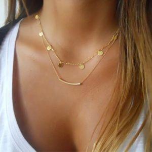 Arrived!!! Gold Boho Layered Choker Necklace